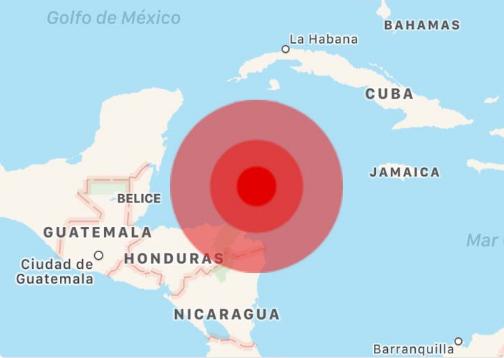 Terremoto sacude Honduras e impacta al sur de México