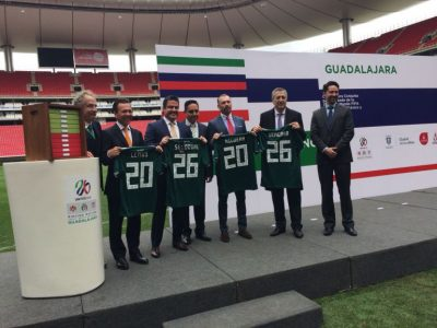 Jalisco espera albergar la Copa del Mundo 2026