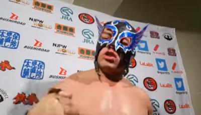 Luchador mexicano realiza función en estado de ebriedad (VÍDEO)