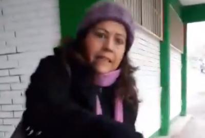 Exhiben a 'maestra federal' por no pagar un viaje en Uber (VIDEO)