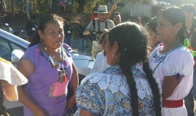 Marichuy exige seguridad tras atentado en Michoacán