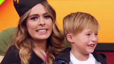 Galilea Montijo hace sorprendete revelación sobre su hijo