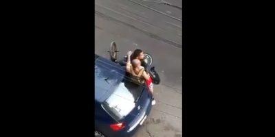 Filtran vídeo de policías agrediendo a ciudadano inocente (Vídeo)