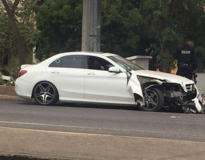 Tres vehículos están involucrados en asesinato de joven en Culiacán