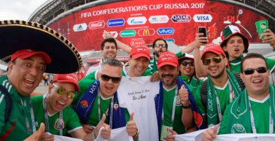 Se esperan al menos 25 mil aficionados mexicanos para el Mundial Rusia 2018