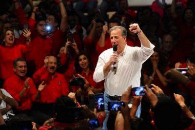 Nueva Alianza hace oficial candidatura presidencial de José Antonio Meade