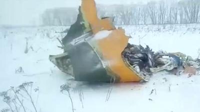 Avión ruso se estrella y mueren las 71 personas a bordo