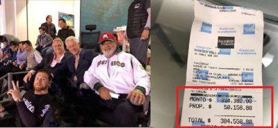 Canelo, Slim y Clinton enloquecen redes con propina de 50 mil pesos (FOTOS)