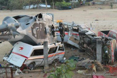 Van 14 decesos por desplome de helicóptero militar, Efraín de la Cruz