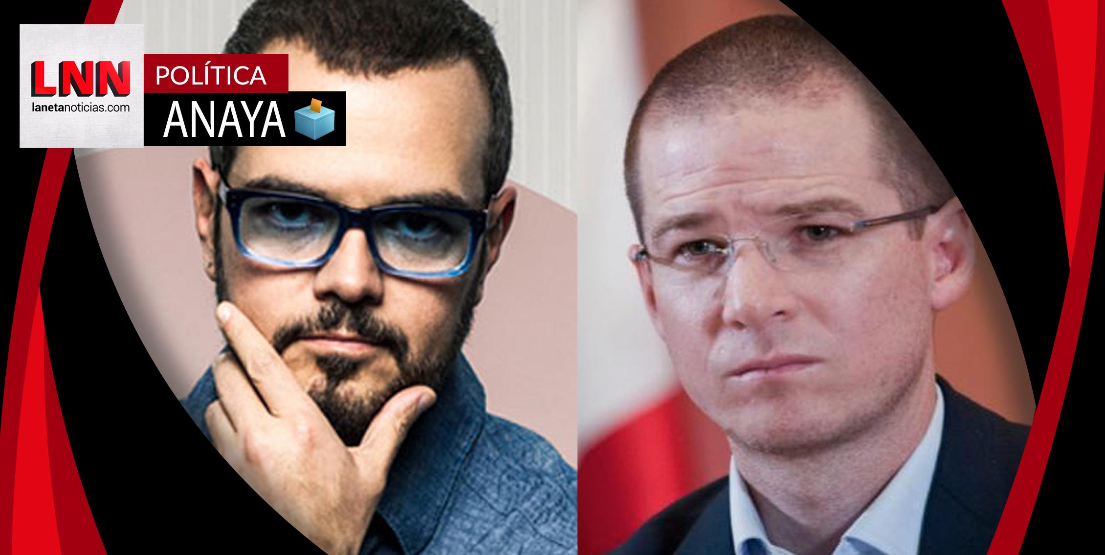 Aleks Syntek explota contra Ricardo Anaya por usar su canción sin permiso