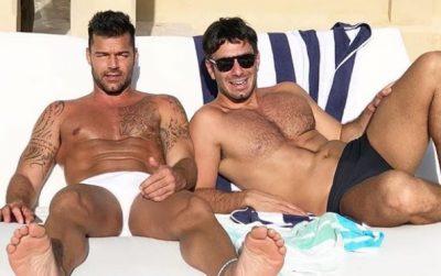 Ricky Martin no puede más y presume al hombre de su vida (FOTOS)