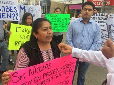Empleados del Ayuntamiento de Xalapa exigen el pago de sueldo