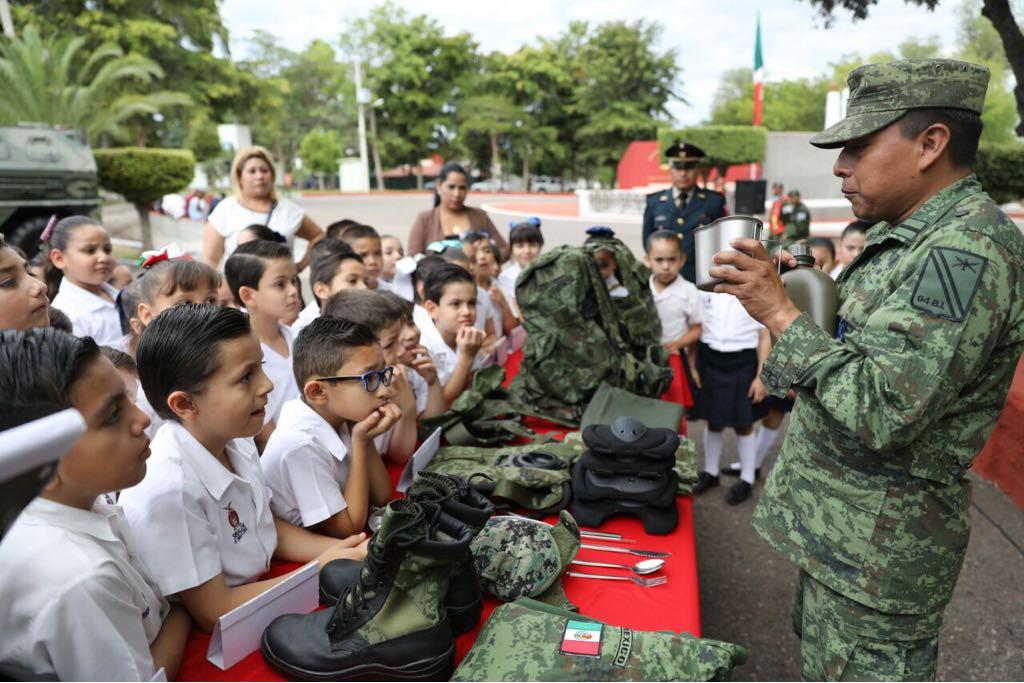 3ra Región Militar de Sinaloa celebra 105 aniversario del Ejército Mexicano