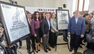 José Rosas Aispuro respalda la creación del Centro de Cinematografía y Actuación