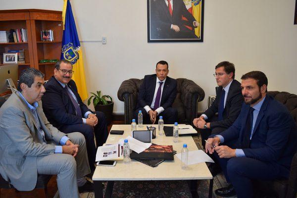 Autoridades de Jalisco se reúnen con representantes de la Embajada Italiana tras desaparición de italianos