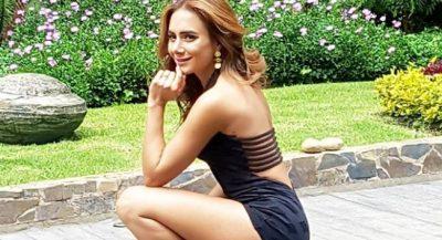 Actriz colombiana 'calienta' Instagram ¡con sus sensuales fotografías!