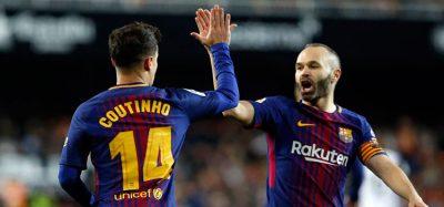 El Barcelona disputará su quinta final consecutiva de la Copa del Rey