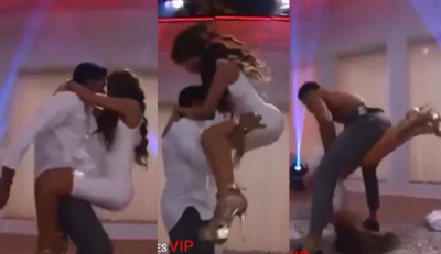 Magaly de Enamorándonos casi se rompe la columna por erótico baile (VIDEO)