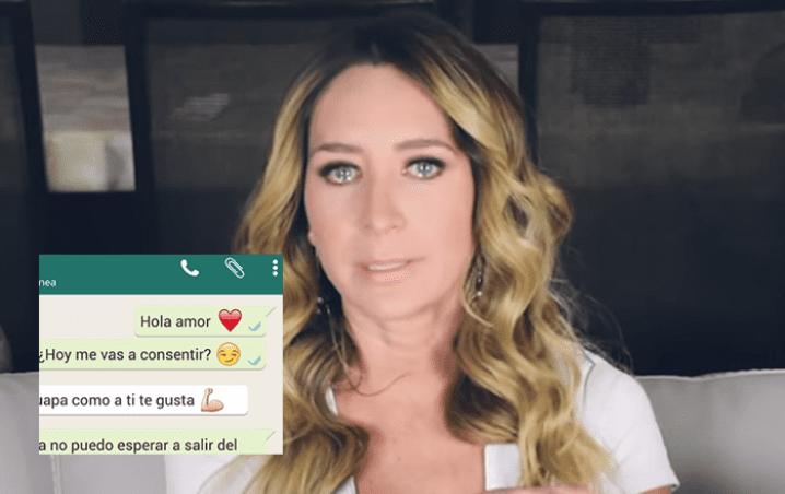 Geraldine Bazán revela mensajes de WhatsApp y desconcierta las redes (VIDEO)