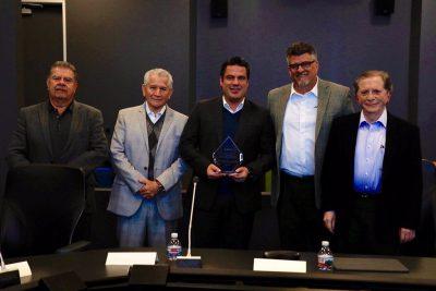 Gobernador de Jalisco agradece a Jabil, Flex y HP por creer en el estado