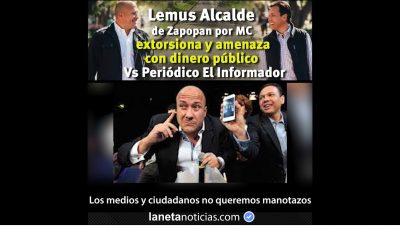 Exhiben audio donde Alcaldía de Zapopan extorsiona al periódico El Informador para no publicar una carta ciudadana