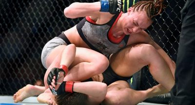 Desfiguran a luchadora de la UFC tras brutal golpiza (VIDEO)
