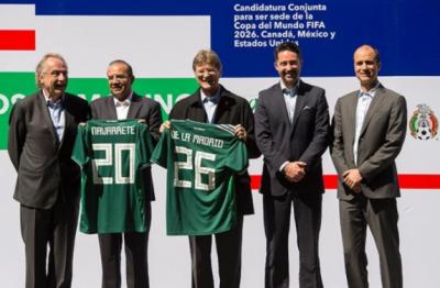 México se prepara para la candidatura del Mundial 2026