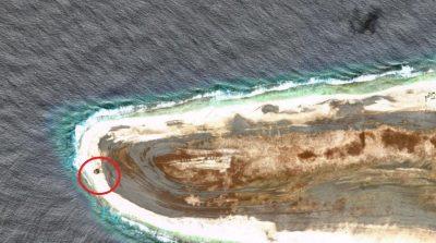 Google Maps capta a OVNI estrellado en isla desierta (FOTOS)