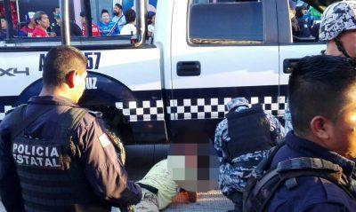 Aficionados del América y del Veracruz protagonizan brutal riña (VIDEO)