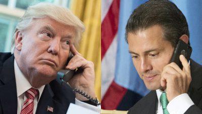 Peña Nieto y Trump intercambian condolencias por las tragedias nacionales