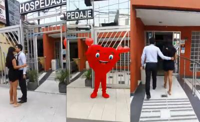Hostal lanza 'peculiar' video para San Valentín y se vuelve viral
