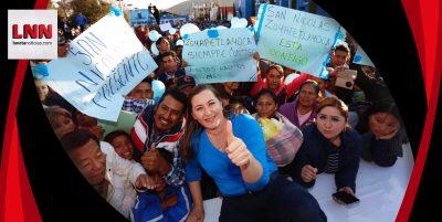 Nombran oficialmente a Martha Erika Alonso como candidata a la gubernatura de Puebla (FOTOS)