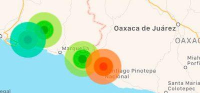 Reportan réplica de intensidad fuerte del sismo de ayer en Pinotepa Nacional, Oaxaca
