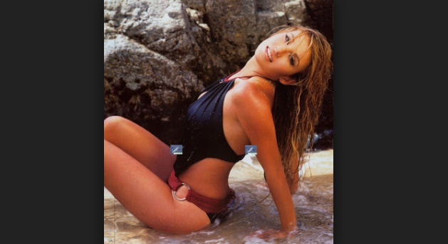 Recuerdan atrevida sesión de Ingrid Coronado en Revista para caballeros (FOTOS)