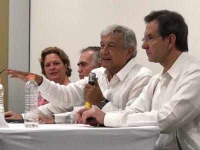 AMLO declara que habrá protestas en caso de fraude electoral
