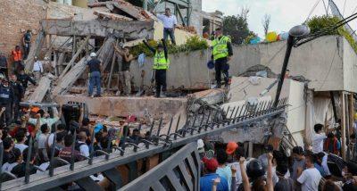 Algunas zonas de la CDMX se hundieron tras sismos del 19