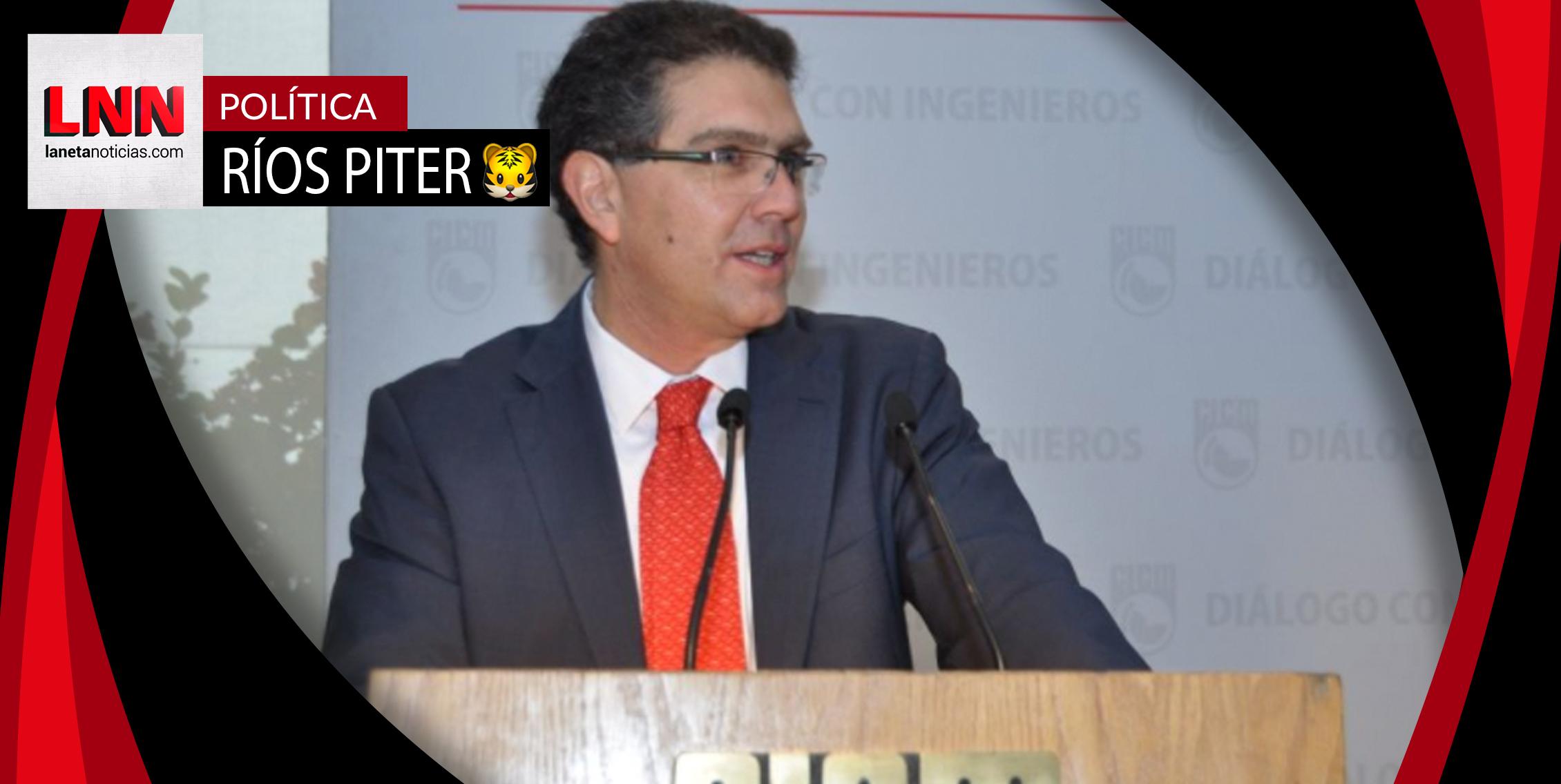 Armando Ríos Piter se registrará el miércoles como candidato presidencial