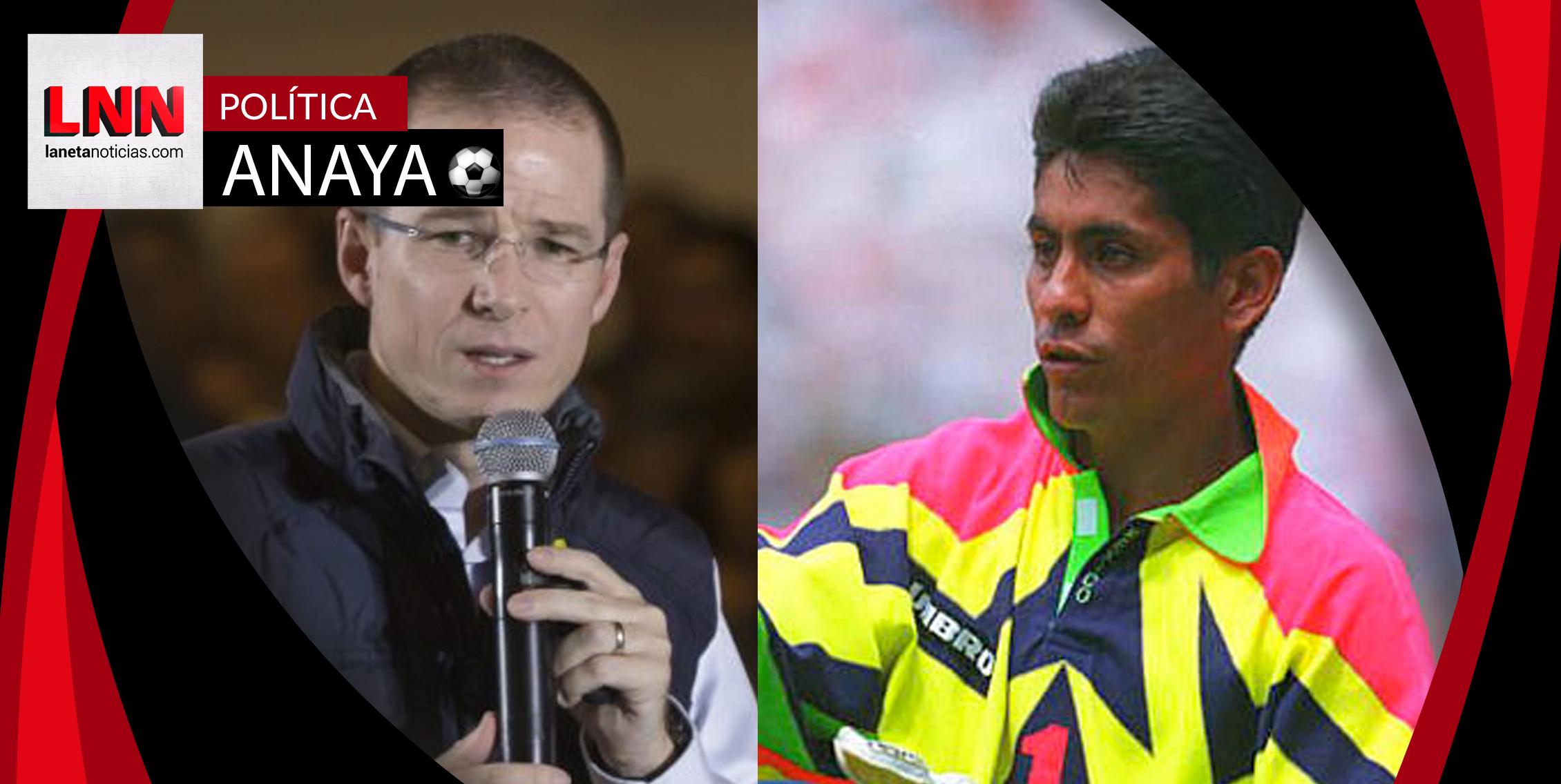 Jorge Campos niega saludo a Anaya y dice que votará por Meade