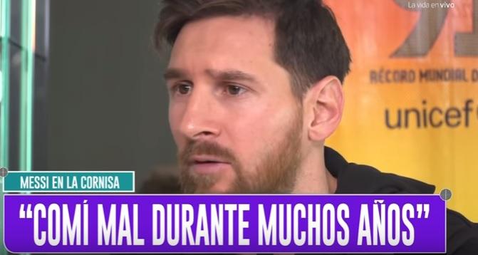 Messi revela el motivo por el que vomitaba en los partidos (VIDEO)