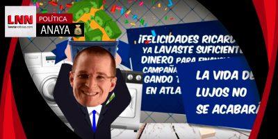 'Lava dinero como Ricardo Anaya', el nuevo videojuego viral