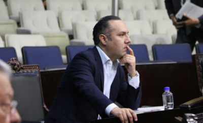 Canek Vázquéz renuncia al PRI para unirse a Morena