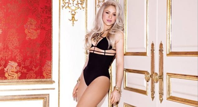 Captan a Shakira con 'hilo dental' de leopardo ¡y las redes enloquecen' (FOTOS)