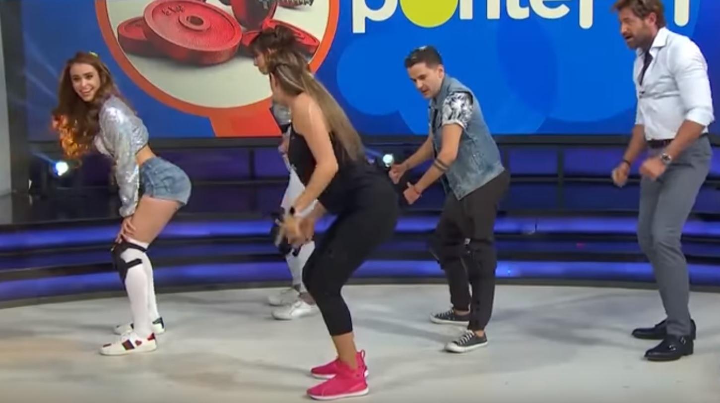 Damaris Rojas hace libidinoso twerking a Gabriel Soto en Hoy (VIDEO)