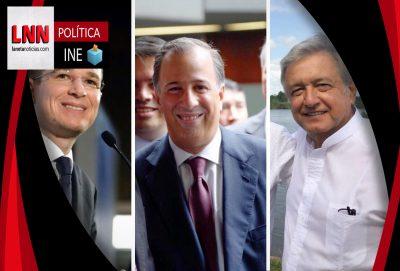 Revisa INE con lupa gastos de presidenciables