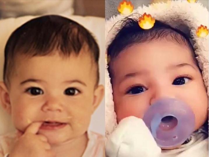 Filtran imágenes del rostro de la hija de Kylie Jenner (FOTO)