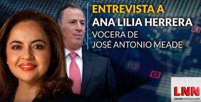 Entrevista con Ana Lilia Herrera, vocera de Meade