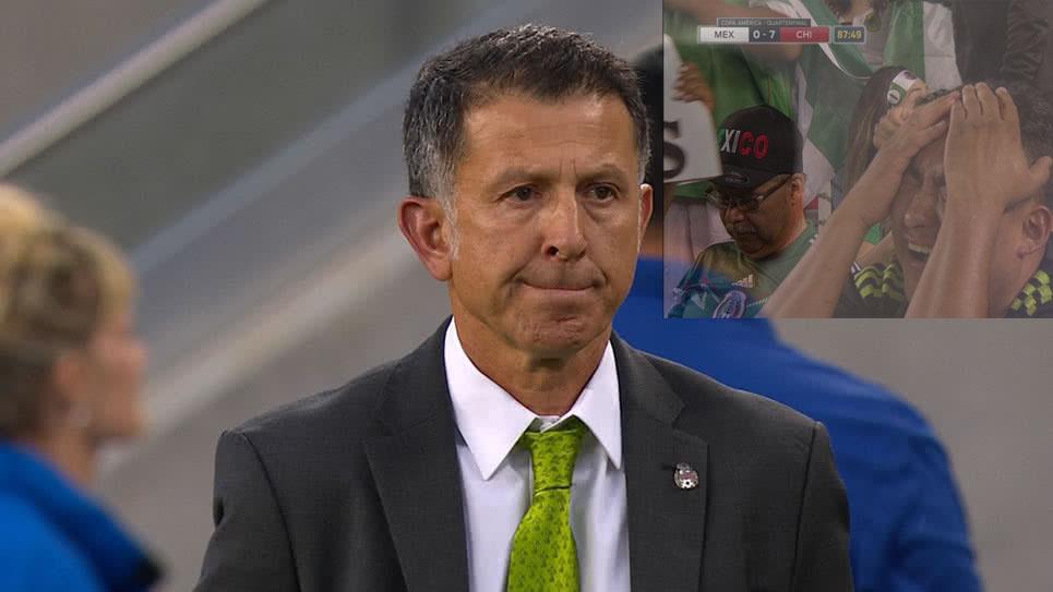 Juan Carlos Osorio afirma que el 7-0 ya está superado