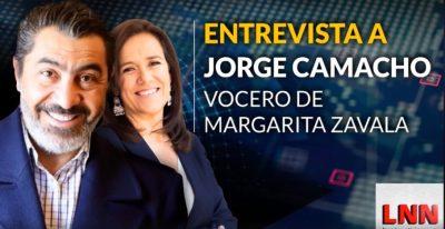 Jorge Camacho aclara el financiamiento de la campaña de Margarita Zavala