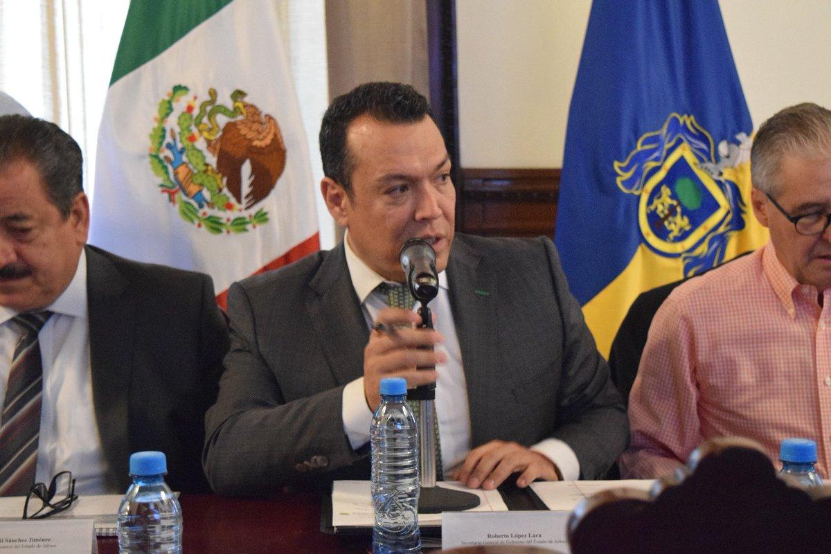 López Lara afirma disminución de delitos en Tlaquepaque