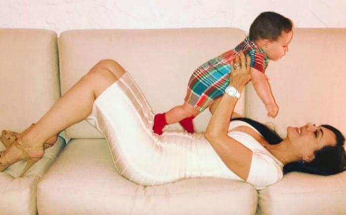 Maribel Guardia confirma ser la abuela más sexi y presume a su nieto en redes (FOTO)